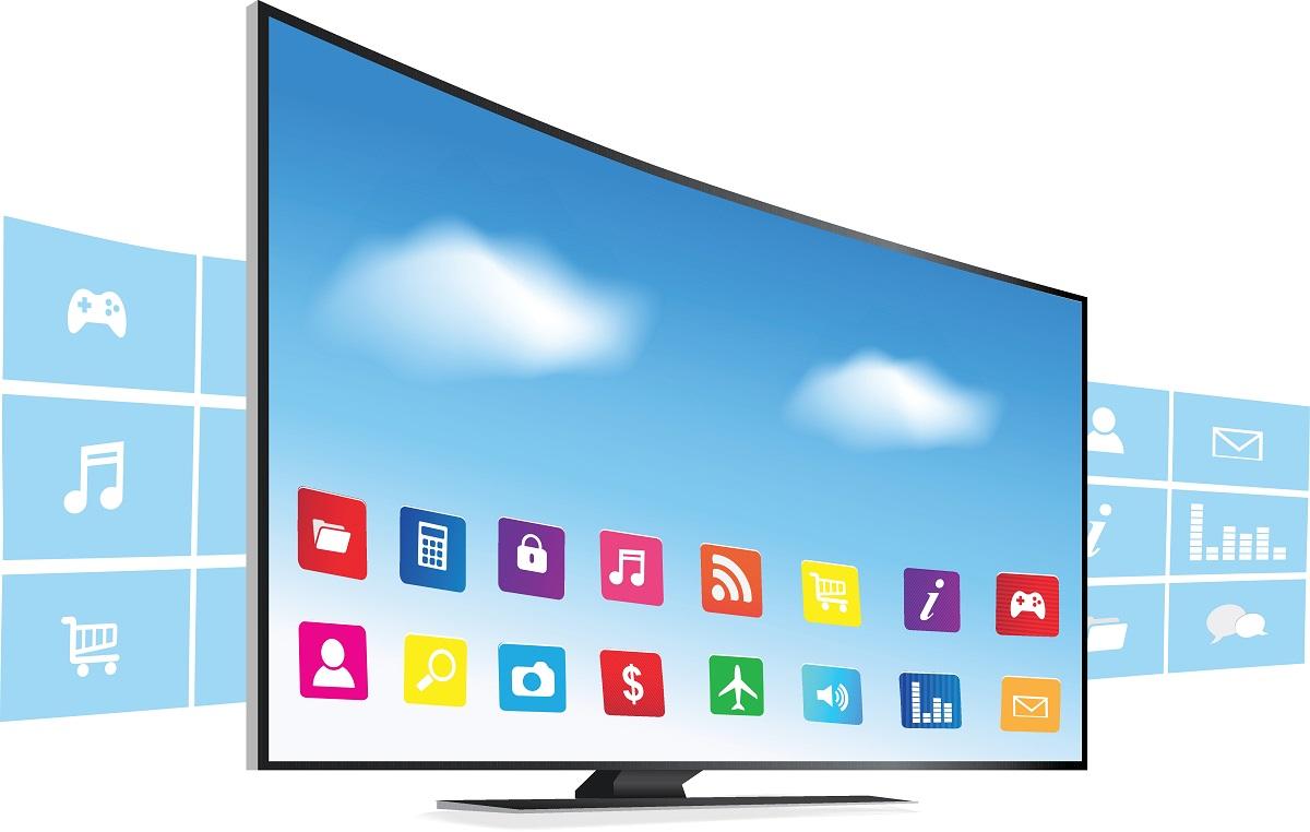 Smart Tv Smartes Fernsehen Und Streamen